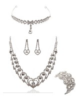 cheap -Women's Bridal Jewelry Sets forehead jewelry Rhinestone Imitation Diamond Alloy Geometric Fashion European Wedding Party Body Jewelry 1
