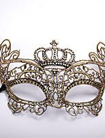 cheap -Carnival Venetian Mask Masquerade Mask Golden Silver Metal Cosplay Accessories Masquerade