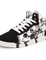cheap -Men's Shoes PU Spring Fall Comfort Sneakers for Casual White Black Blue
