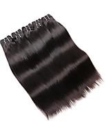 Недорогие -Бразильские волосы Прямой силуэт Ткет человеческих волос 10 в комплекте 0.5