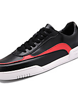 cheap -Shoes Synthetic Microfiber PU Spring Fall Comfort Sneakers for Casual White Black