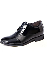 cheap -Men's Shoes PU Spring Fall Formal Shoes Comfort Oxfords for Office & Career Party & Evening Black