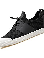 cheap -Men's Shoes Tulle Spring Fall Light Soles Sneakers for Casual Army Green Black