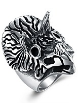 cheap -Men's Statement Ring , Oversized Hip-Hop Rock Stainless Steel Parrot Costume Jewelry Party Bar