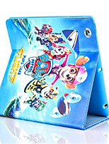 cheap -Case For Apple iPad Air 2 Shockproof with Stand Flip Pattern Auto Sleep/Wake Up Full Body Cases Cartoon Hard PU Leather for iPad 9.7