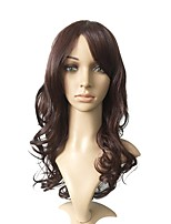 cheap -Synthetic Fiber Wig Ombre Auburn Long Deep Wavy Full Head Wig Party Women Costume Cosplay Wig