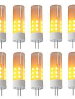 cheap -BRELONG® 10pcs 3W 230 lm G4 LED Corn Lights 36 leds SMD 2835 Flame Effect Warm White DC 12V