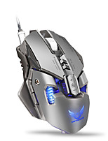 cheap -X300GY Wired Gaming Mouse DPI Adjustable Backlit Programmable 1200/1600/2400/3200/4000