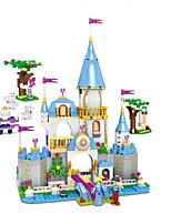 Недорогие -Конструкторы Игрушки Сказка Архитектура утонченный Взаимодействие родителей и детей мифология Мальчики Девочки Куски