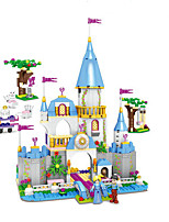 cheap -Building Blocks Toys Fairytale Theme Architecture Exquisite Parent-Child Interaction Mythology ABS Boys Girls Pieces
