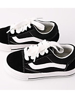 cheap -Boys' Shoes Canvas Spring Fall Comfort Sneakers for Casual Black/White
