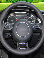 abordables -housses de volant automobile (cuir) pour audi a1