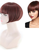 cheap -Synthetic Hair Wigs Straight Celebrity Wig Party Wig Natural Wigs Red