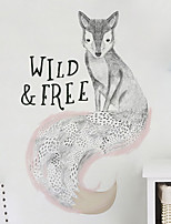 cheap -Animals Wall Stickers Plane Wall Stickers Decorative Wall Stickers,Vinyl Home Decoration Wall Decal Wall