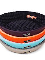 Недорогие -Собака Кровати Животные Коврики и подушки Однотонный Оранжевый Серый Лиловый Синий Для домашних животных
