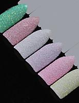 Недорогие -костюм из пяти частей искрящийся блестки мешки для инструментов гвоздь блеск многоцветный