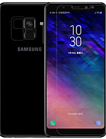 cheap -Screen Protector for Samsung Galaxy Galaxy A8 2018 Tempered Glass PET 1 pc Front & Back & Camera Lens Protector Front Screen Protector