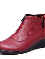 economico -Danza moderna PU sintetico Sneaker Basso Bianco Nero Rosso Personalizzabile