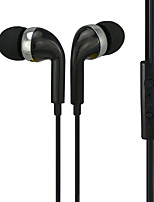 cheap -LIZU X-506 In Ear Wired Headphones Dynamic Copper Mobile Phone Earphone with Microphone Headset