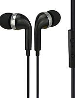 abordables -li zu x-506 téléphone mobile dynamique 3.5mm filaire dans l'oreille cuivre avec microphone