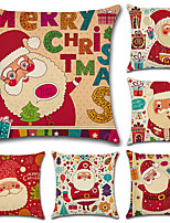 cheap -6 pcs Cotton/Linen Pillow Cover,Print Bohemian Style Retro