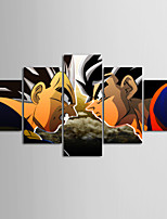 cheap -Canvas Set Modern,Five Panels Canvas Horizontal Print Wall Decor Home Decoration