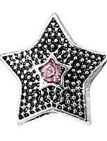 Недорогие -Ювелирные изделия DIY 10 штук Бусины Стразы Сплав Лиловый Перламутрово-розовый Красный Светло-синий Тёмно-синий Звезда Шарик 0.45 cm DIY