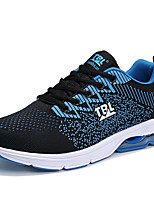 cheap -Men's Shoes Tulle Spring Fall Comfort Sneakers for Casual Orange Light Grey Black/Blue