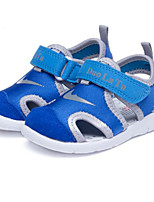 cheap -Boys' Girls' Shoes Cowhide Spring Summer Comfort First Walkers Sandals for Casual Light Blue Pink Blue Green Purple