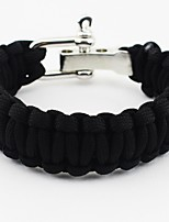 cheap -Survival Bracelet Outdoor Exercise Camping / Hiking / Caving Outdoor Nylon fiber Metalic synthetic fibre 1 pcs