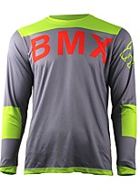 cheap -summer wisdom leaves motorcycle cross-country jersey own mountain bike HD downhill cross-country jersey outdoor sports long-sleeved T-shirt quick