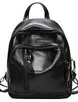 cheap -Women's Bags PU Polyester Zipper for Casual All Seasons Black