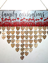 cheap -Special Occasion New Year Wooden Wedding Decorations Wedding Family All Seasons