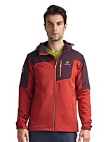 cheap -Men's Hiking Jacket Outdoor Winter Keep Warm Fast Dry Top Single Slider Fishing Casual Camping Running