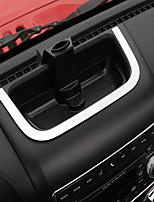 Недорогие -автомобильный центральный стек покрывает DIY автомобильные салоны для джипа 2011 2012 2013 2014 2015 2016 2017 wrangler metal