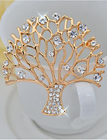 cheap -Women's Brooches Elegant Alloy Tree of Life Jewelry For Party Ceremony