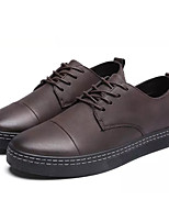 cheap -Men's Shoes Synthetic Microfiber PU Spring Fall Comfort Oxfords for Casual Brown Gray Black