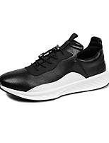 cheap -Men's Shoes Synthetic Microfiber PU Winter Fall Comfort Sneakers for Casual White Black