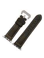 cheap -Watch Band for Apple Watch Series 3 / 2 / 1 Apple Wrist Strap Sport Band Genuine Leather