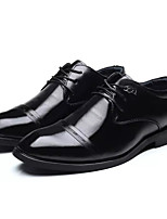cheap -Men's Shoes Synthetic Microfiber PU Spring Fall Comfort Oxfords for Casual Black