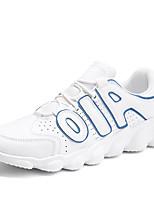 Недорогие -Муж. обувь Дерматин Весна Лето Удобная обувь Кеды для Повседневные Белый Черный Красный