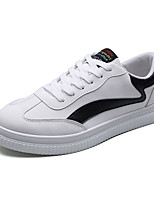 cheap -Men's Shoes PU Spring Fall Comfort Sneakers for Outdoor White Black Gray