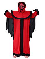Недорогие -Дьявол Косплэй Kостюмы Муж. Хэллоуин Фестиваль / праздник Костюмы на Хэллоуин Красный Halloween