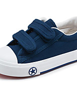 cheap -Boys' Shoes Canvas Spring Fall Comfort Sneakers for Casual Blue Red Black White