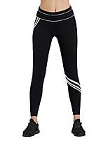 preiswerte -Damen Laufhosen Atmungsaktivität Hosen/Regenhose Rennen Polyester Elasthan Weiß Blau S M L
