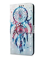 cheap -Case For Huawei Mate 10 pro Mate 10 lite Card Holder Wallet with Stand Flip Magnetic Pattern Full Body Cases Dream Catcher Hard PU Leather