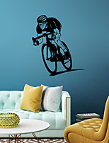 cheap -People Sports Wall Stickers Plane Wall Stickers Decorative Wall Stickers,Vinyl Home Decoration Wall Decal Window Wall