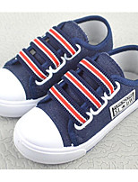 cheap -Boys' Shoes Denim Spring Fall Comfort Sneakers for Casual Light Blue Dark Blue