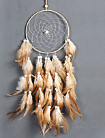 cheap -Wall Decor Feather/Fur Animals Wall Art,Dreamcatcher of 1