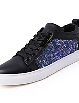 cheap -Shoes PU Spring Fall Comfort Sneakers for Casual Black Red